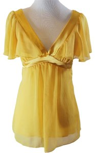 Papaya Flowy Top Yellow