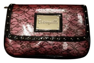 Betsey Johnson Studded Faux Leather Cross Body Bag
