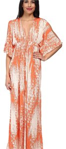 Orange Maxi Dress by T-Bags Los Angeles