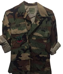 Authentic Military Jacket Thrift Military Jacket