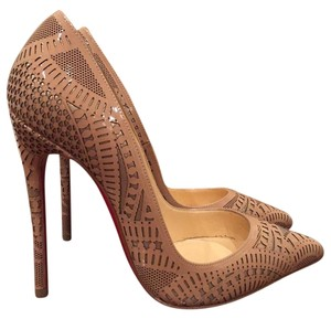 Christian Louboutin Kristali Stiletto nude Pumps