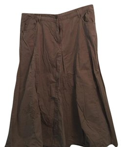 Faded Glory Maxi Skirt Brown