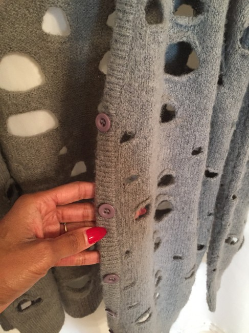 Other Holey Cardigan Zara Casual Button Up Asos Sweater
