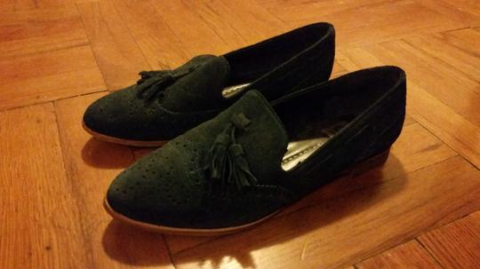 Dolce Vita Suede Loafers Casual Navy Flats