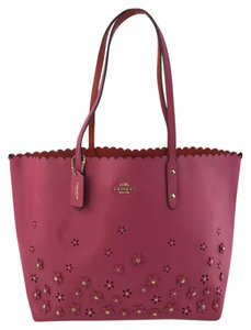 Coach F37651 Women's Tote in Dahlia/Pink