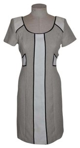 Chetta B. by Sherrie Bloom and Peter Noviello Color-blocking Office Attire Monocromatic Dress