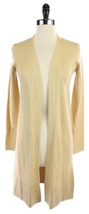KAROO New Beige Gold Wool Blend Sweater Cardigan