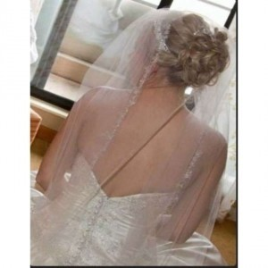 Ansonia Bridal Stunning Custom Length Cathedral Veil!