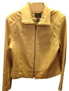 Uniform John Paul Richard Zipper Front Butter Leather Jacket