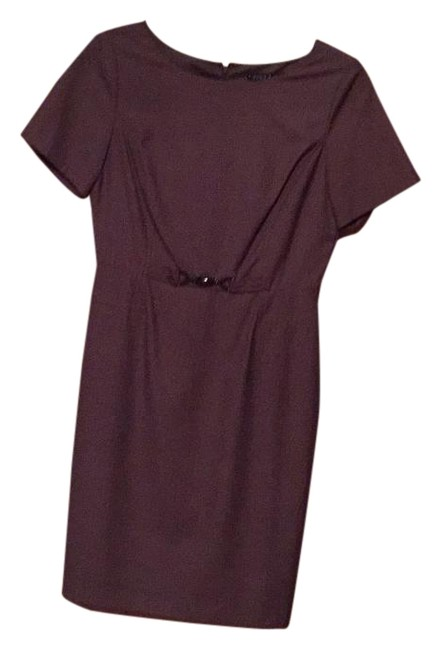 Item - Taupe Knee Length Work/Office Dress Size 8 (M)