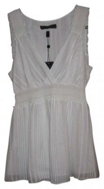 Preload https://item5.tradesy.com/images/bcbgmaxazria-white-blouse-size-4-s-174804-0-0.jpg?width=400&height=650
