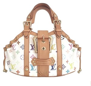 Louis Vuitton Theda Monogram Limited Edition Satchel in Multicolor