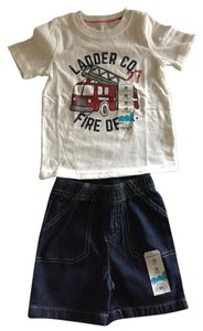 Jumping Beans Jumping Beans (for 18 month old) Boys tee and shorts