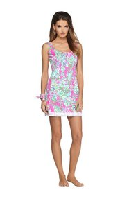 Lilly Pulitzer Shift Barely Worn Spring No Longer Available Dress