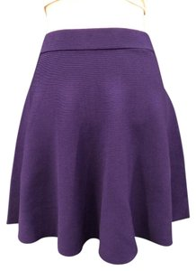 Rebecca Taylor Stretchy Bright Blue Skirt Midnight