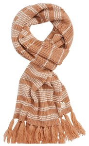 Vince Camuto Vince Camuto Scarf Stripe Thermal Scarf Fringe Trim