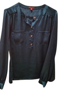 Vince Camuto Silk Top teal