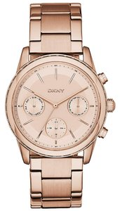 DKNY DKNY Rockaway Rose Gold-Tone Ladies Watch NY2331