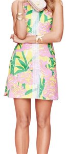 Lilly Pulitzer for Target short dress pink, green, and yellow on Tradesy