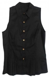 MICHAEL Michael Kors Button Down Shirt Black