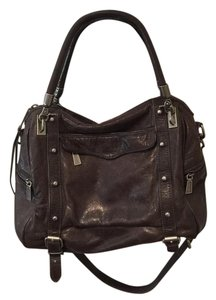 Rebecca Minkoff Satchel in Brown/grey