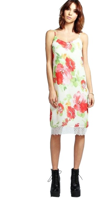 Private collection short dress Floral on Tradesy