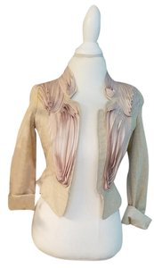 Anna Sui Baby pink / Gold Jacket