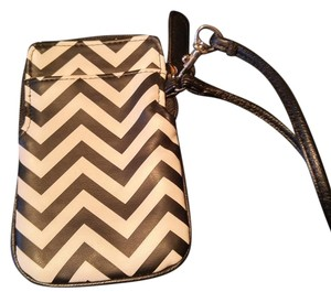 Other Cute Small Wristlet in Black & White