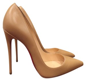 Christian Louboutin So Kate Sokate Nude Pumps