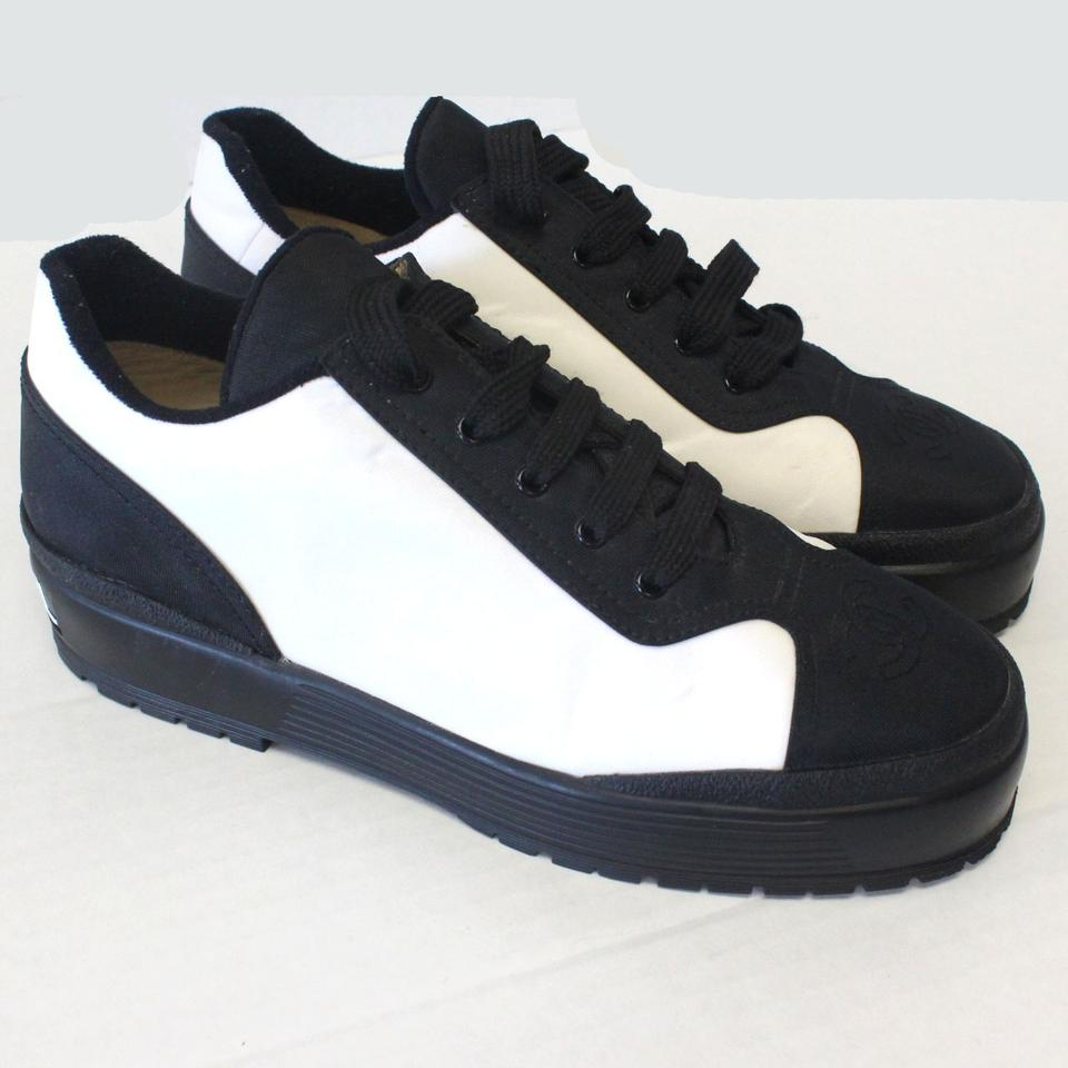 Chanel Sneakers Black Chanel Black Athletic Chanel