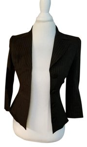 Dolce&Gabbana Pinstripe Suit charcoal Jacket