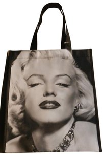 Other Marilyn Monroe Legends Icons Pinup Tote in Black & White