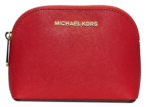 Michael Kors Michael Kors Cindy Patent Leather Cosmetic Case Travel Pouch