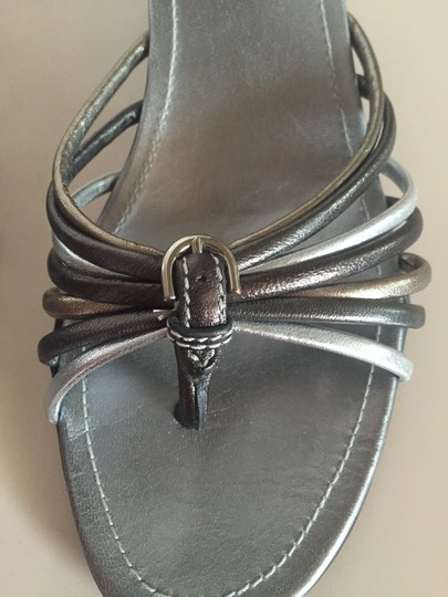 Coach Metallic Sandals