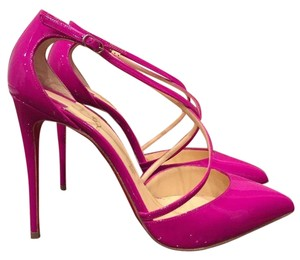 Christian Louboutin Cross Blake Strappy pink Pumps
