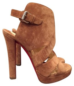 Christian Louboutin Apron Lili Bootie brown Pumps