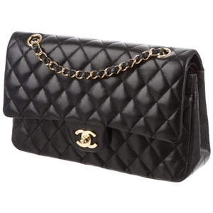 Chanel Classic Flap Quilted Medium Double Shoulder Bag