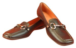 Coach Dark Chocolate Flats