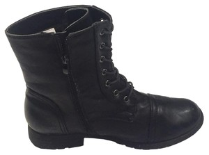 Women Leather Black Boots