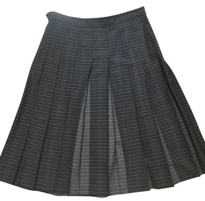 Pendleton Skirt Grey/Charcoal