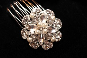 Bella Tiara Royal Collection Swarovski Crystal Wedding Hair Combs