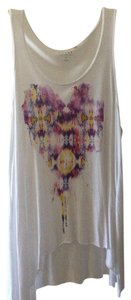 Guess Top White with multicolored heart