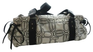 bebe - Satchel in Black & White