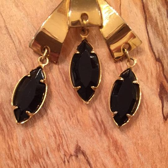 Other Vintage Gold Chandelier Clip On Earrings