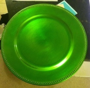 Koyal Wholesale Lime Green Charger Plates Tableware