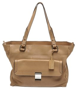 Escada Tote in Tan