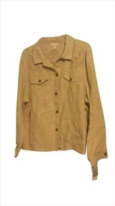 Charter Club Beige Jacket