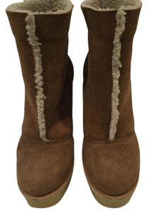Chloe sheerling boot Tan Boots