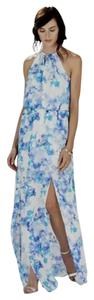 Carnal (Blue) Maxi Dress by Parker Maxi Summer Side Slit Flowy Maxi