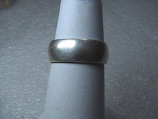 Vintage Sterling Silver Band Ring (@2)